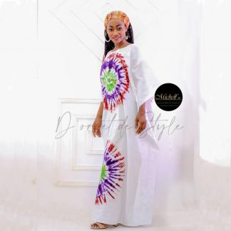 Boubou en tissus Africain By Michel In AXIME- e-commerce-le marché plus près de vous