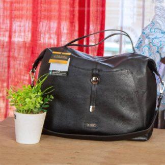 Sac en cuir Noir By Michel In AXIME- e-commerce-le marché plus près de vous